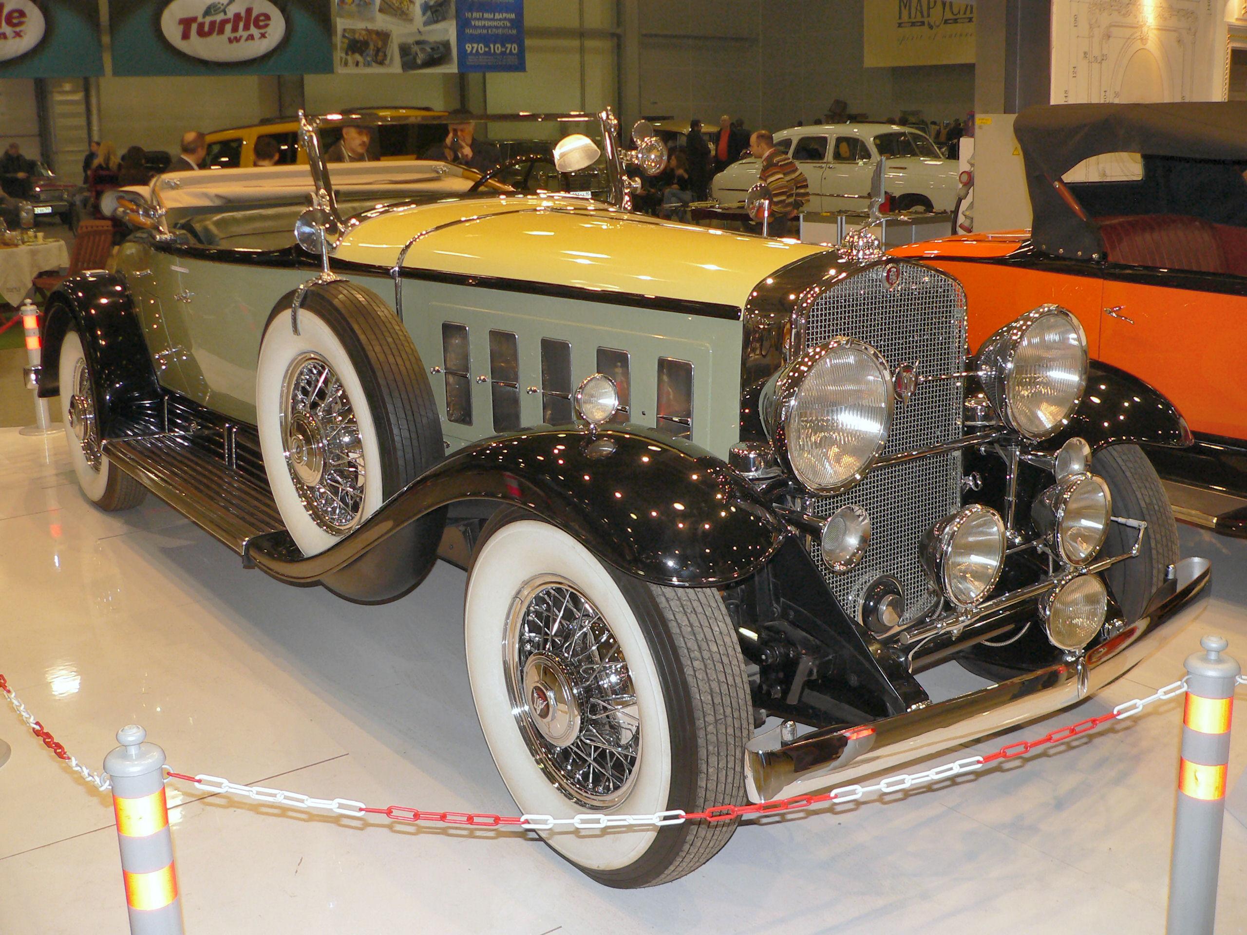 1930 Cadillac V16 Sport Roadster Walk Around Page 1