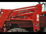 Case MX110 Maxxum with GR870