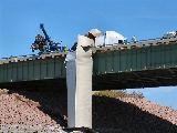 Truck Wreck on I-90 Bridge