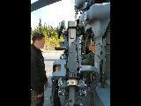 HH-60G External Gun Mount
