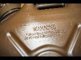 US 20 Liter Fuel Canister