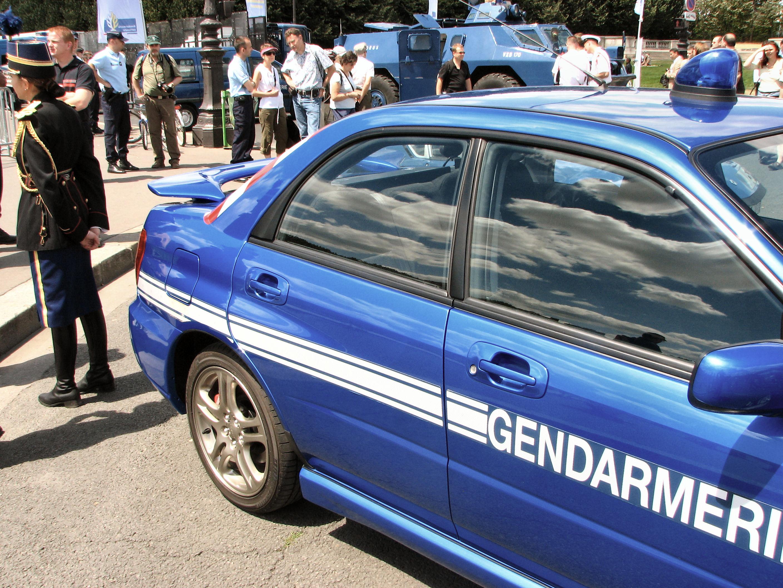 Subaru Impreza Wrx Gendarmerie Police Car Walk Around Page 1