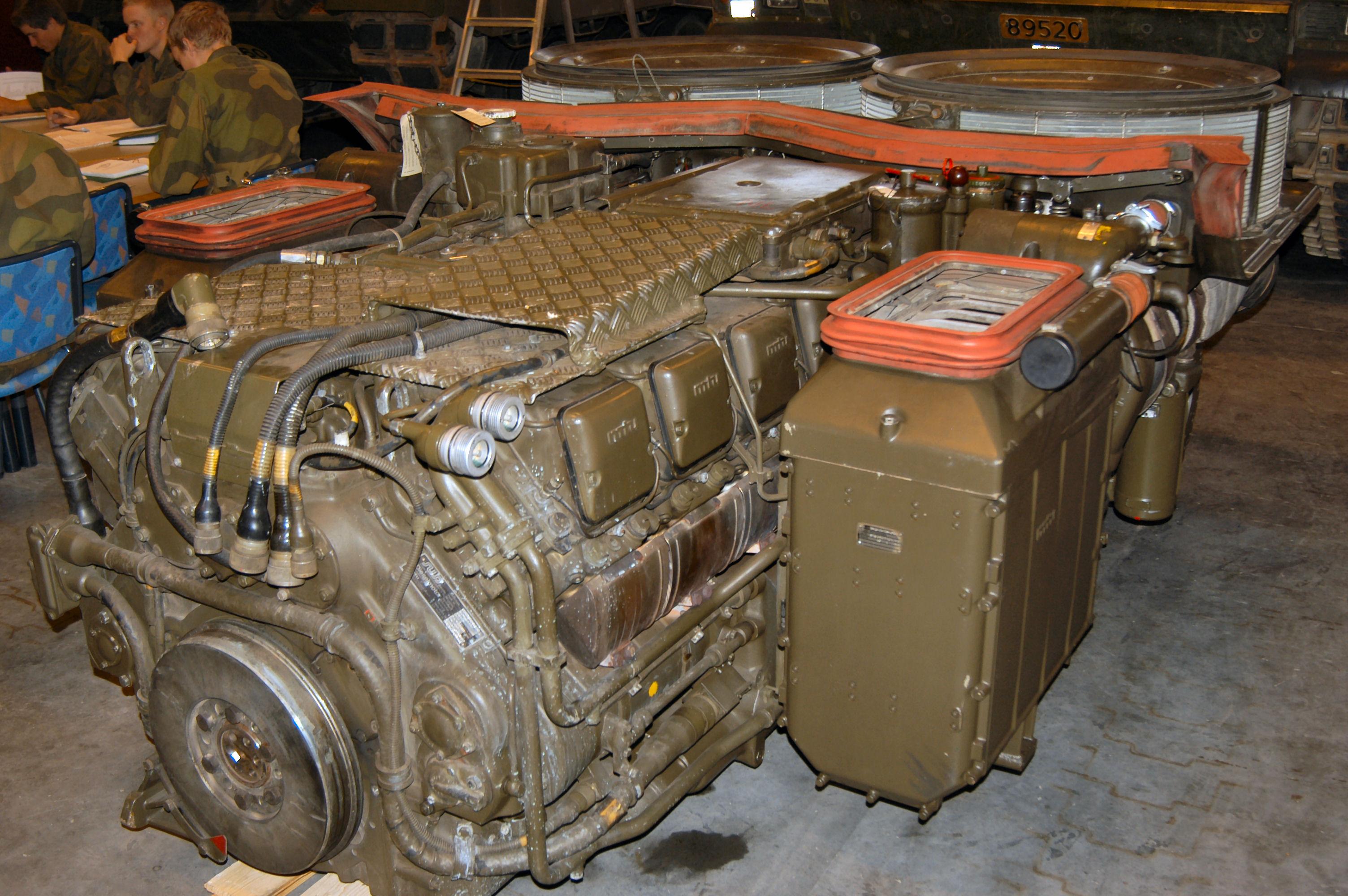 leopard 2 motor