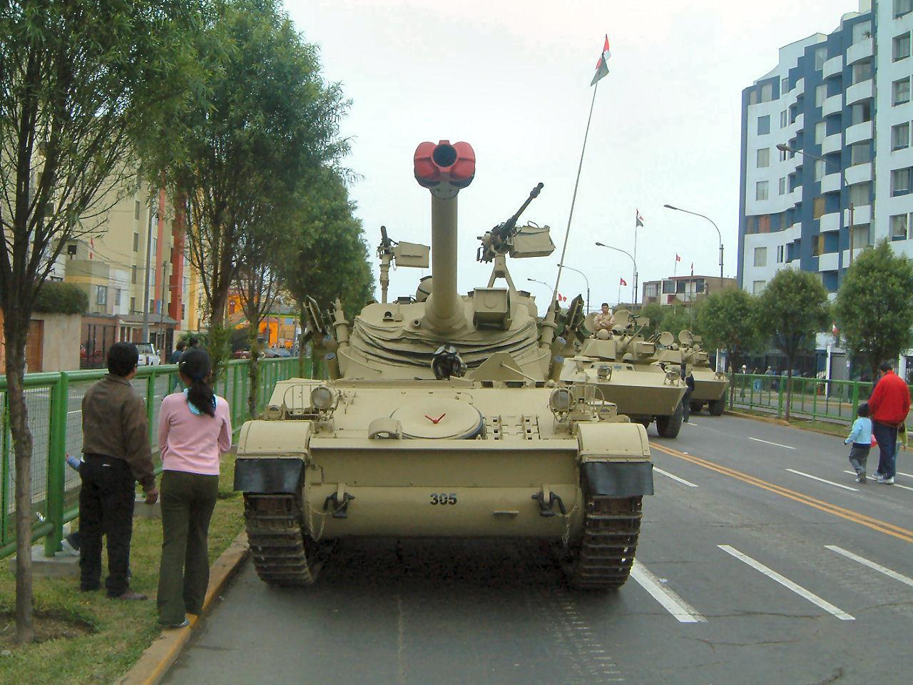 Peruvian AMX-13 Walk Around Page 1