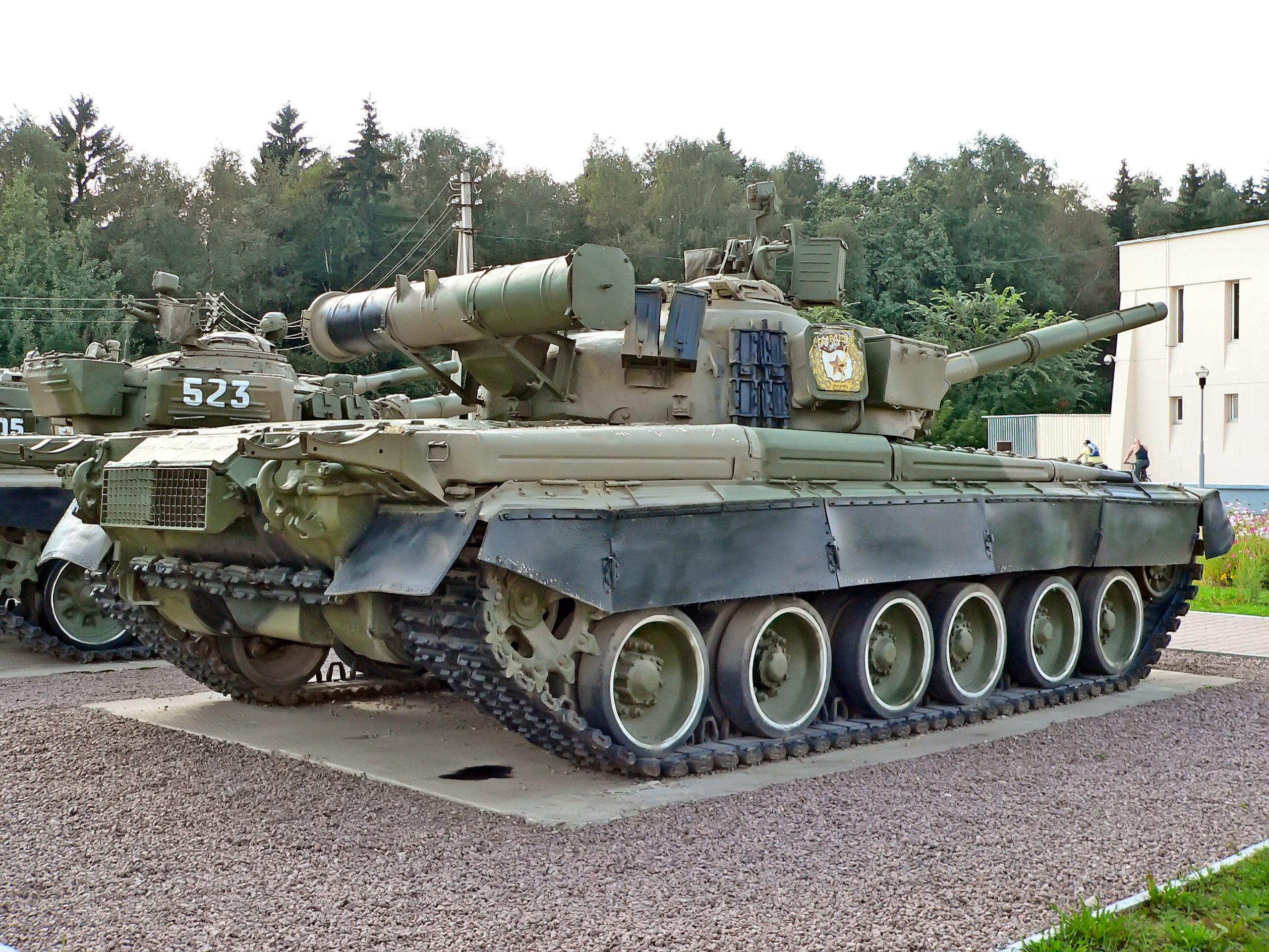 T80 Tank Firing on Ukrainian Positions : CombatFootage